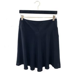 H&M Jersey High Waisted Circle Skater Short Skirt
